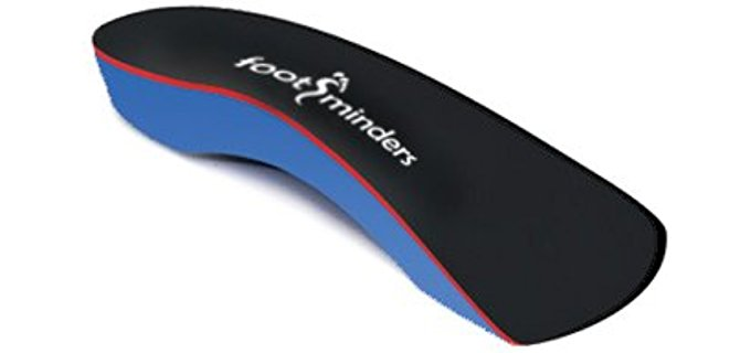 Footminders Unisex Kids Orthotics - Perfectly Designed Orthotic Insoles for Small Kid's Flat Feet