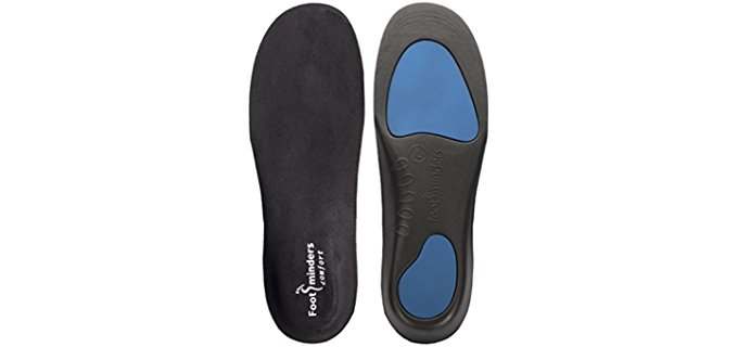 Footminders Unisex Flat Feet Insoles - Work Boot Insoles for Flat Feet