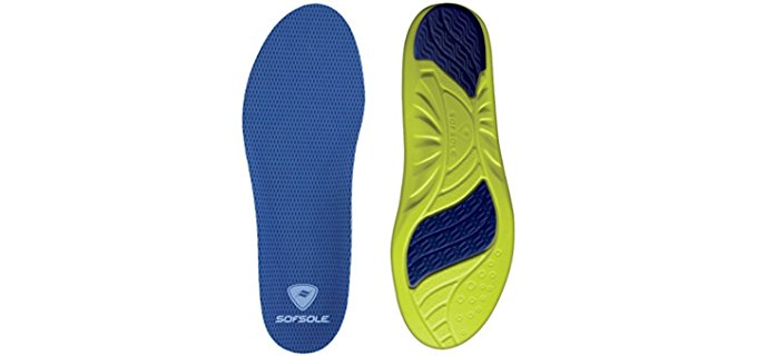 Sof Sole Men's Athlete - Hydrologix Antimicrobial Insole
