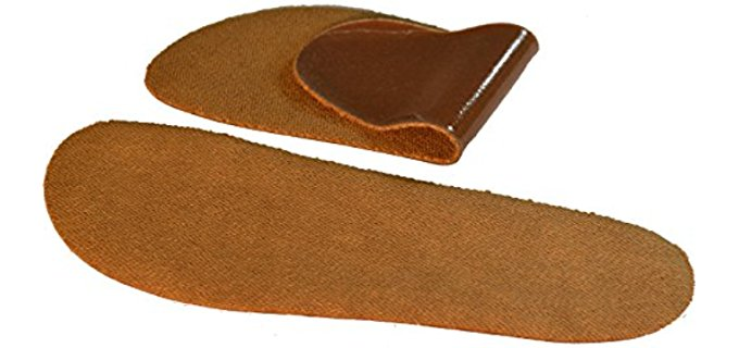 Soxsols Unisex Cotton Cork Brown - Removable, washable cork shoe inserts