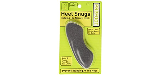 Profoot Unisex Heel Snugs - Heel Padding for Dress Shoes