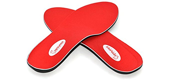 Samurai Insoles Unisex Pronation Relief Insoles - Diabetic Inserts for Foot Fatigue Alleviation