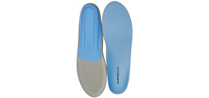 Superfeet Unisex Neutral Arch Insoles - Foot Supportive Medium Arch Walking Insoles