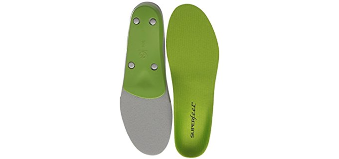 Superfeet Unisex Heel Pain Relief - Synthetic Foam Insoles for Heel Pain