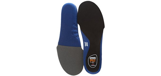 Timberland Pro Unisex Dynamic Cushion Insoles - Adaptive Foot Protective Anti-Fatigue Insoles