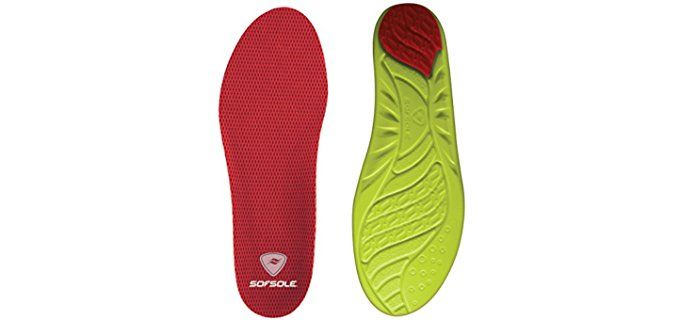 Sof Sole Unisex Enhanced Height Insole - Enhanced Protection High Arch Insoles