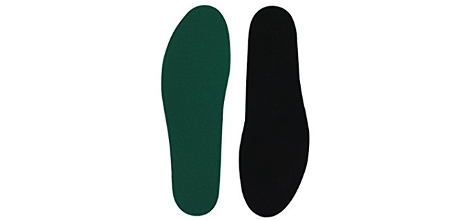 Spenco Unisex Cushioning Insoles - Antimicrobial Flat Shoe Foam Insoles