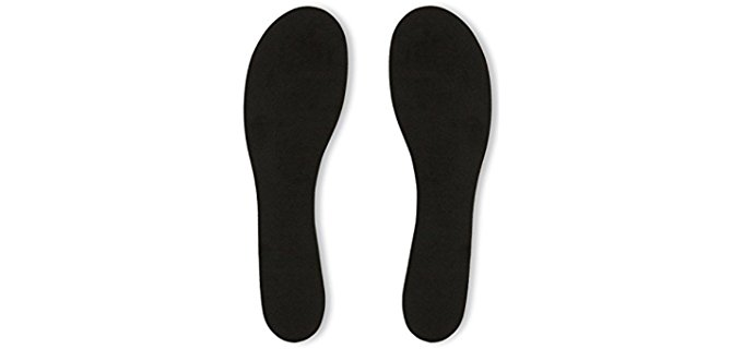 Summer Soles Unisex Sandal Insoles - Stick On Suede Insoles for Sandals