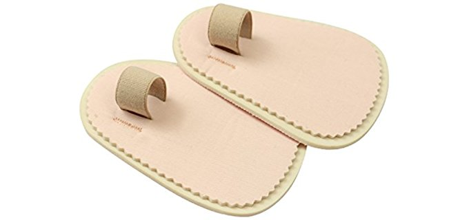 VIVEsole Unisex Toe Pad Insoles - Hammer Toe Insole Pads with Strap