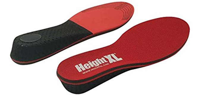 Height XL Unisex Thick Insoles - 1 Inch Thick Height Increasing Insoles