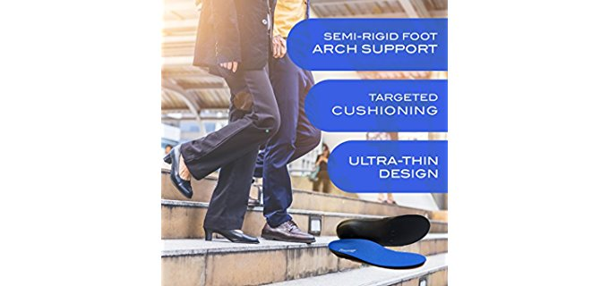 Powerstep Pinnacle's Orthotic Insoles - Hammer Toe Foot Alignment Insoles