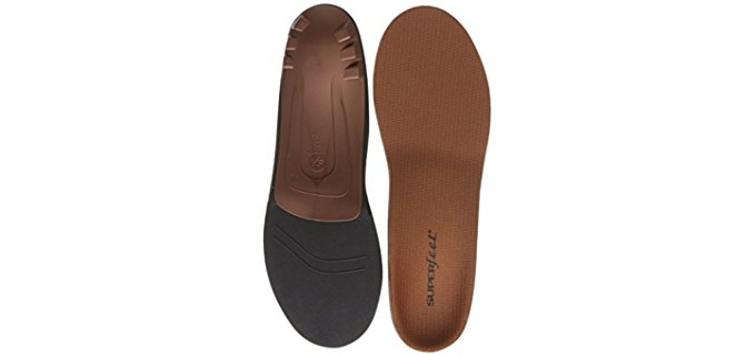 Superfeet Unisex Personalised Copper Insoles - Flat Feet Arthritis Relief Copper Insoles