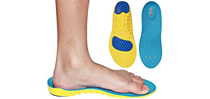KidSole Unisex Kid's Insoles - Adaptive Support Insoles for Kids