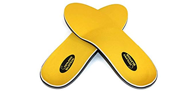 Samurai Insoles Unisex Utility Insoles - Flat Feet Insoles for Cowboy Boots