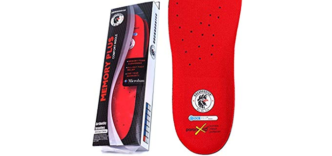 RockRooster Unisex Work Boot Insoles - Robust Cowboy Work Boots Insoles