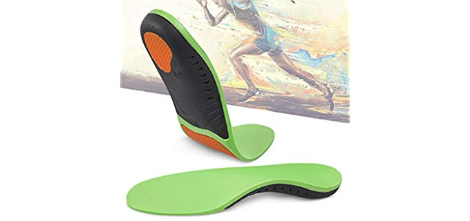 Hyperspace Unisex Sports Insoles - Shock Absorbing Insoles for Shin Splints