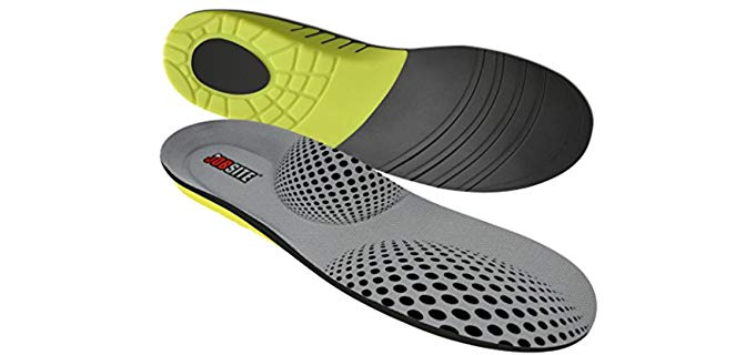 Jobsite Unisex Support Insoles - Anti-Fatigue Insoles for All Day Work