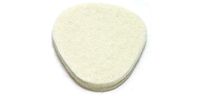 Mars Wellness Unisex Metatarsal Pad - Felt Cushion Inserts for Hallux Rigidius