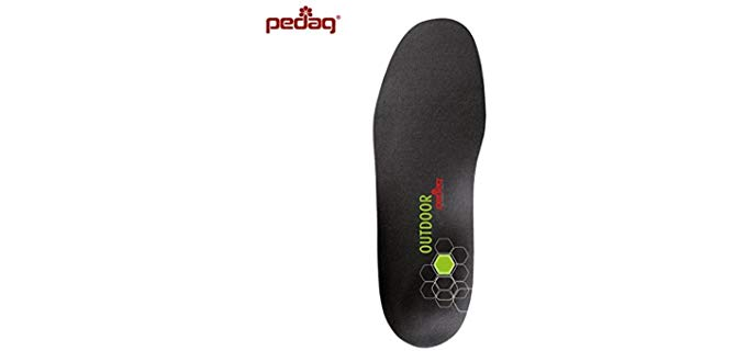 Pedag Unisex Sportsline Carbon Insoles - Carbon Fiber Filter Hiking Insoles