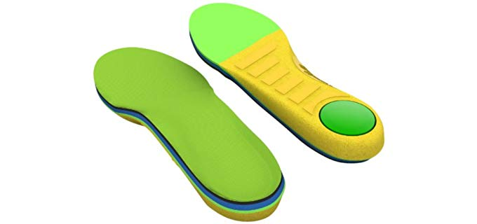 Spenco Unisex Polysorb Insoles - Memory Foam Insoles for Kids