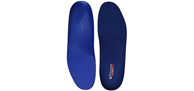 Powerstepp Unisex Pinnacle - Dual Cushioned Gout Insole