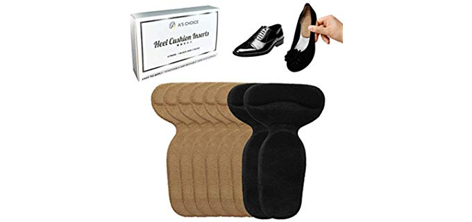 A's Choice Unisex Heel Cushion - Fillers for Big Shoes