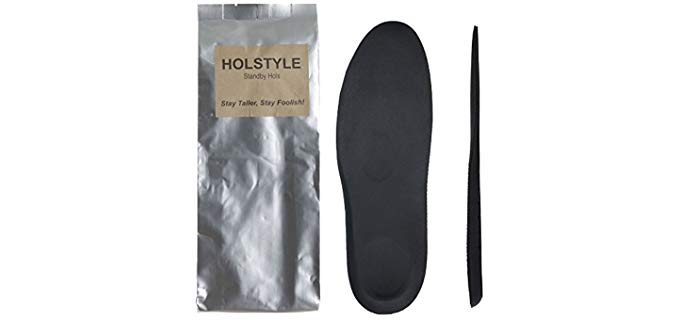 Holstyle Unisex Taller Heel - Loafer Insoles