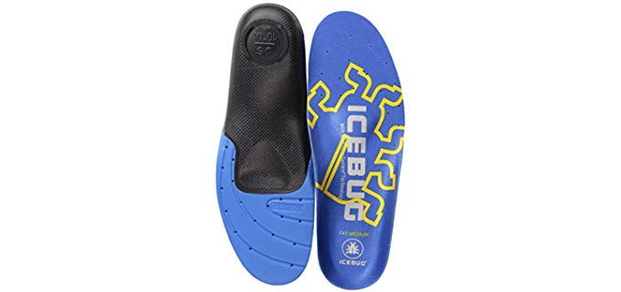 Icebug Men's Fat - Arch Support Hockey Skate Insole