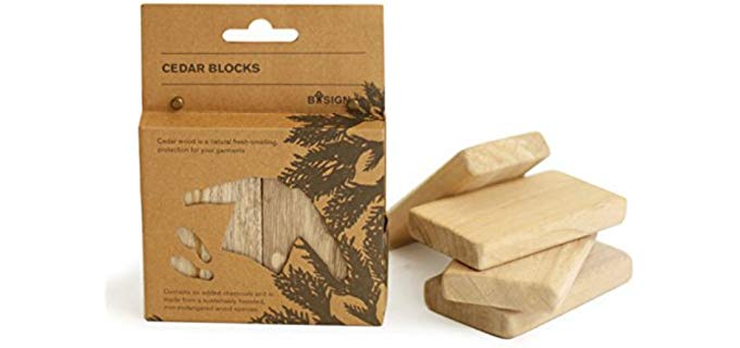 Bosign Unisex Aroma - Natural Cedarwood Blocks
