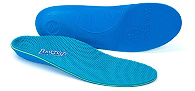 Powerstep Unisex Pinnacle Breeze - Cushioned Antimicrobial Insoles