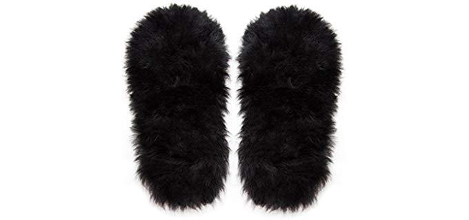 Alaska Leather Unisex Extra Thick - Sheepsking Leather Insoles