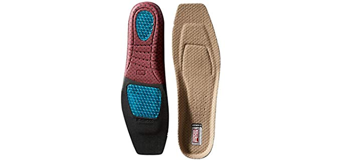 Ariat Unisex ATS - Square Toe Insoles for Boots