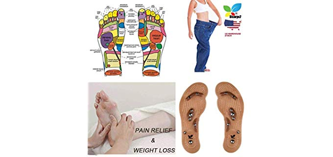 STCorps7 Unisex Slimming - Acupuncture Insoles