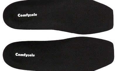 square Toe Insole feature