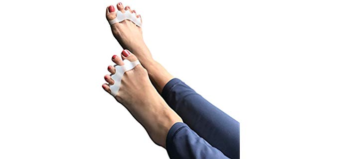 Agile Toes Unisex Gel - Toe Separator and Straightener