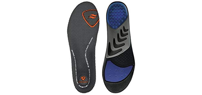 Sof Sole Men's Airr Orthotic - Insoles for Military Boots