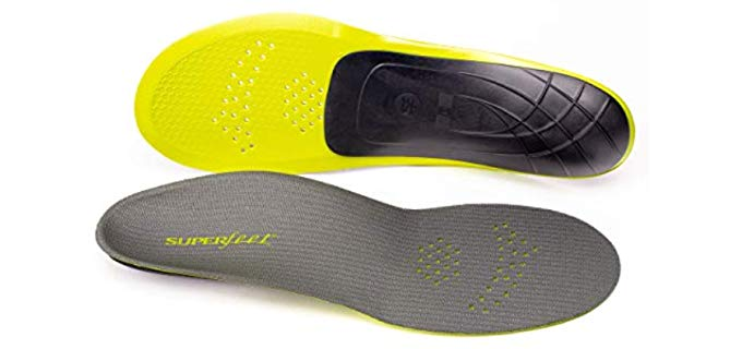 Superfeet Unisex Yellow Carbon - Thin Adidas Replacement Insole