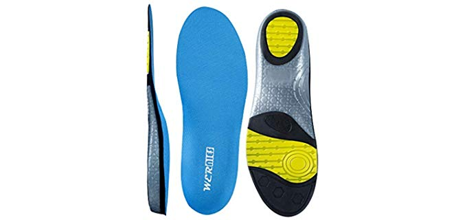 Wernie's Unisex Sneaker - Adidas Replacement Insoles
