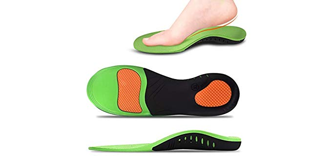 JUNZ Unisex  - Arch Support Insoles