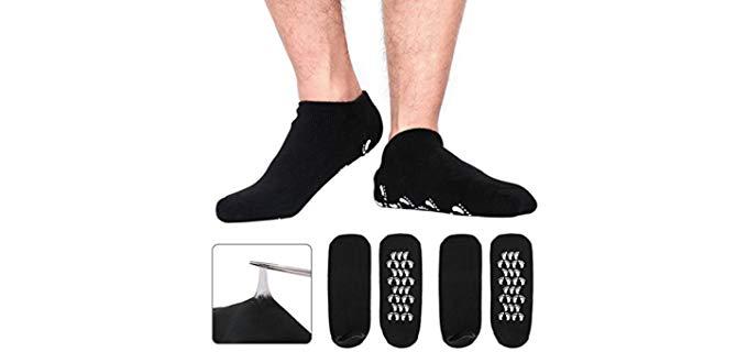 Codcream Men's Large - Moisturizing Socks for Men