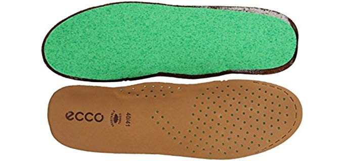 ECCO Unisex Everyday - Leather Comfort Insoles