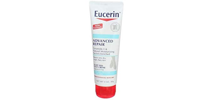 Eucerin Unisex Intensive Repair - Light and moisturizing Cream for Dry and Cracked Feet