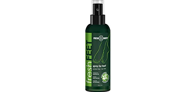 Fresh Body Unisex Fresh Feet - Foot Antiperspirant Serum Deodorant