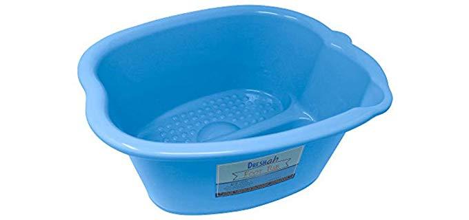 DRESHah Unisex Foot Bath - Manual Foot Spa
