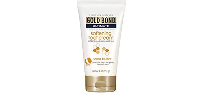 Gold Bond Unisex Ultimate - Shea Butter Cream for Dry and Cracked Feet Cream for Dry and Cracked Feet Cream for Dry and Cracked Feet