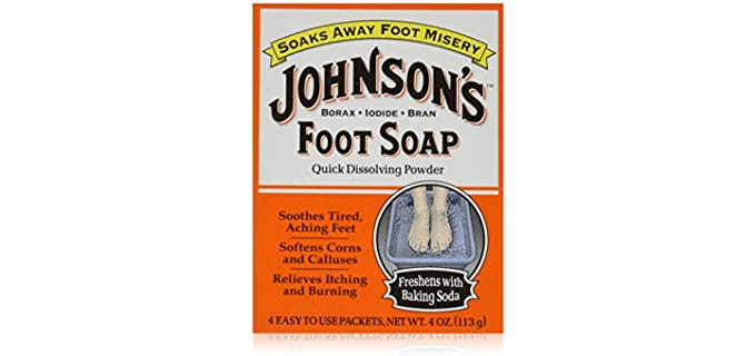 Johnsons Unisex Foot Soap - Soak in Soap for Smelly Feet