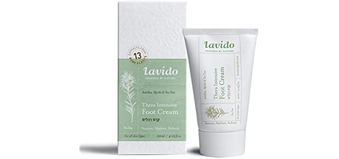 La Vido Thera Unisex Intensive - Moisturizing Cream for Dry and Cracked Feet