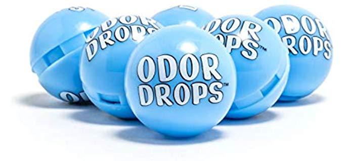 Lock Laces Unisex Odor Drops - Shoe Deodorizer Balls