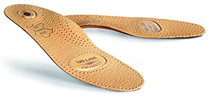 Kaps Unisex Relax - Arch Support Leather Insoles