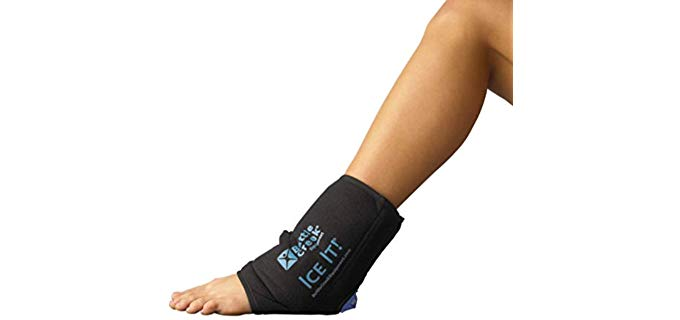 Ice It! Unisex MAXComfort - Ice and Heat Wrap for Feet and Ankles